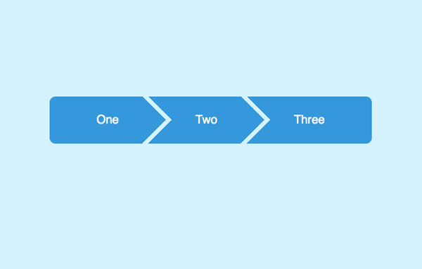 Закругленные края для первого и последнего li