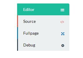 CSS3 выпадающее меню