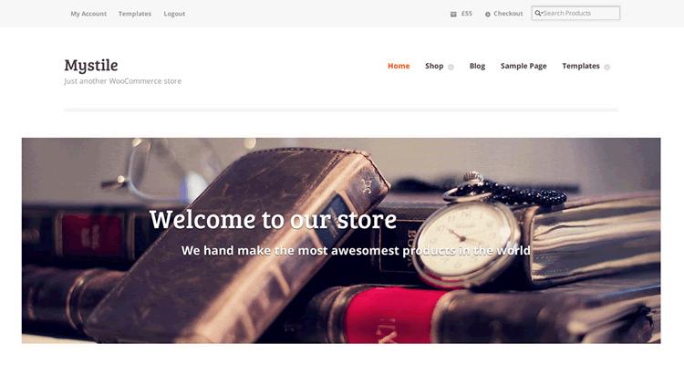 Mystile WooCommerce тема для WordPress