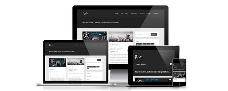 Nova тема для wordpress