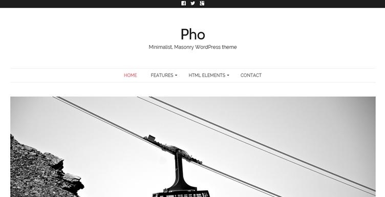 Шаблон wordpress для дизайнеров или фотографов