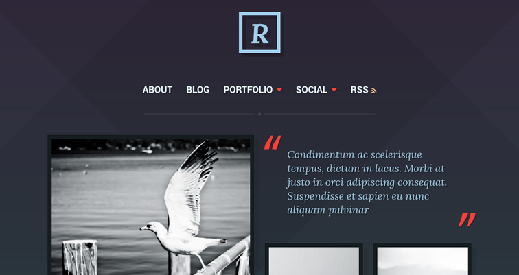 Ravel профессиональный шаблон wordpress