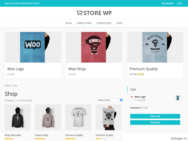 Store WP WooCommerce