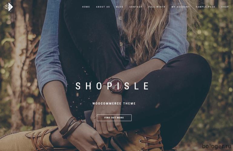WooCommerce ShopIsle