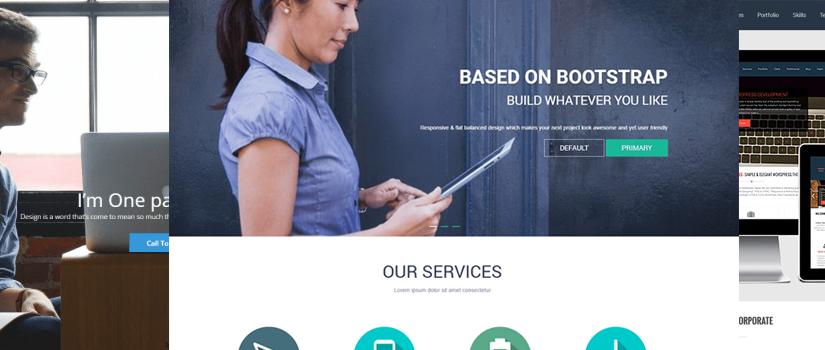 Бесплатные landing page шаблоны WordPress — ТОП 30