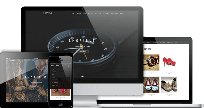 ShopIsle WordPress шаблон