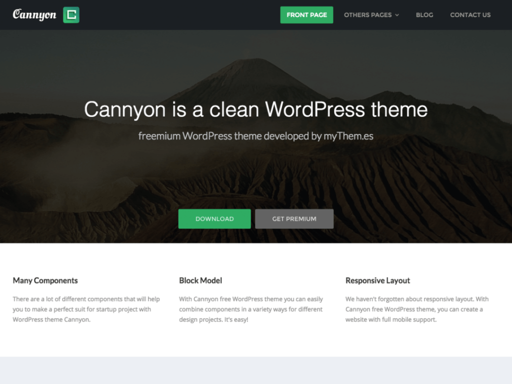 Cannyon WordPress
