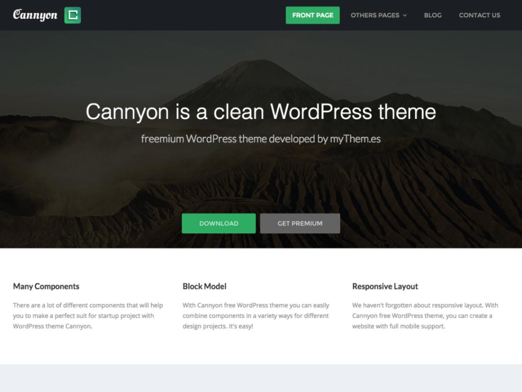 Cannyon WordPress