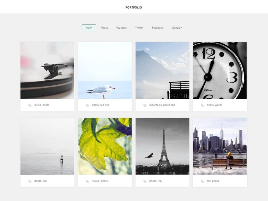 GK Portfolio WordPress