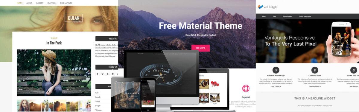 Бесплатные шаблоны WordPress — 15 лучших