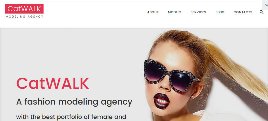 Catwalk тема WordPress