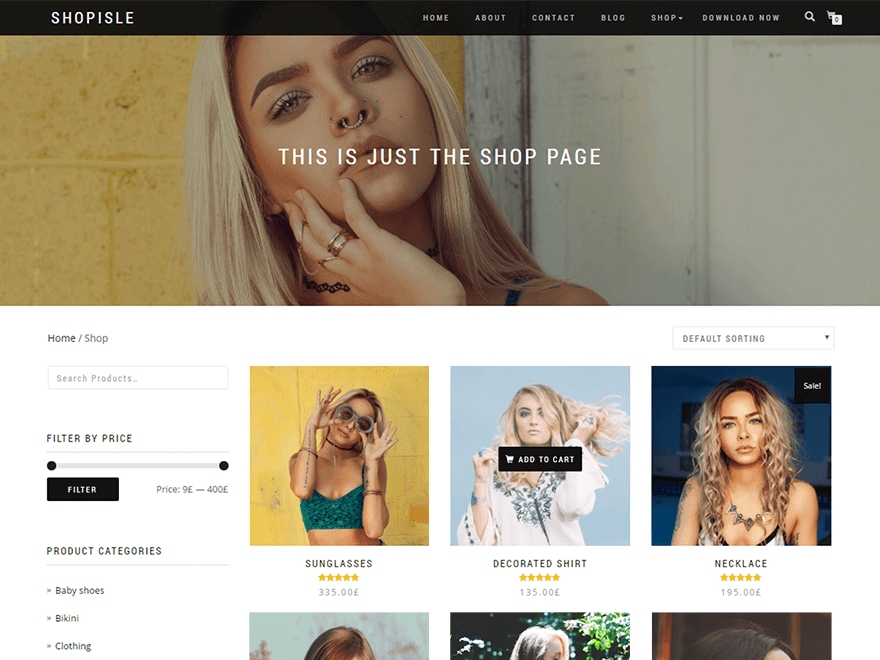 ShopIsle WordPress